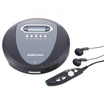 AudioComm ポータブルCDプレーヤー [品番]07-3878