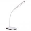 調光式 LEDデスクライトUSB充電機能付 ホワイト [品番]07-8499