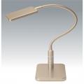 LED 3段調光式 デスクライト シャンパンゴールド [品番]07-8521