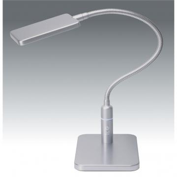 LED 3段調光式 デスクライト シルバー [品番]07-8522