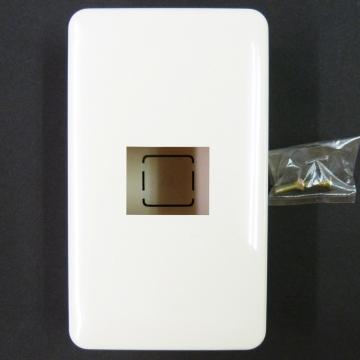 露出配線用 増設ボックス 1口 [品番]00-8276