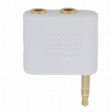 iPod対応 2口分岐アダプター [品番]01-7510