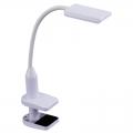 LEDデスクランプ クランプタイプ ホワイト [品番]07-8423