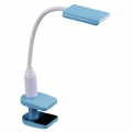 LEDデスクランプ クランプタイプ ブルー [品番]07-8425