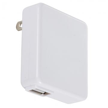 AudioComm スマートフォン用 USB充電器 1A [品番]01-7059