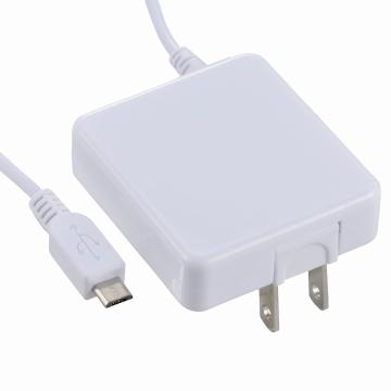 AudioComm スマホ用 AC充電器 1A ホワイト [品番]01-7036