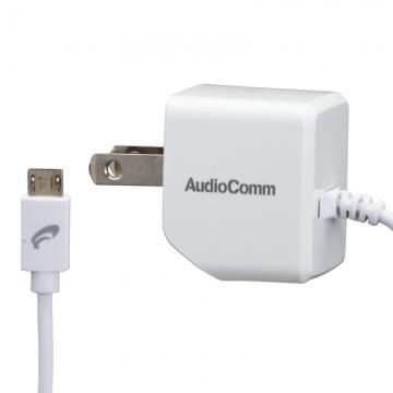 AudioComm ACチャージャー MicroUSB 2.4V [品番]03-3050