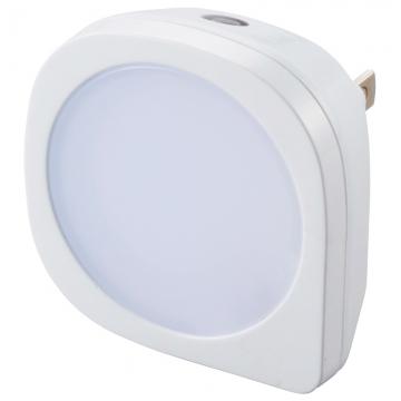 LEDナイトライト 明暗センサー調光 白色LED [品番]07-8419
