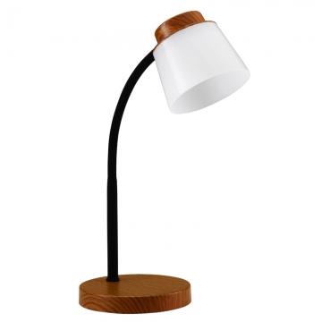 LEDデスクランプ ブラウン [品番]07-8422