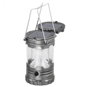 ダブルソーラー充電式 LEDランタン [品番]07-8701