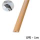 テープ付きプロテクター 0号 木目ライト 1m×1本 [品番]00-4610