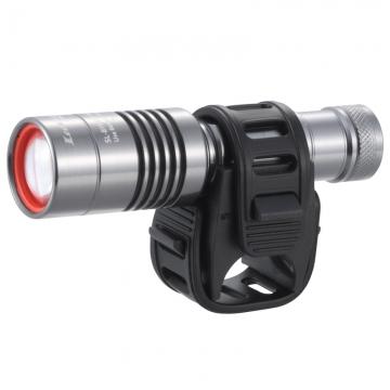 防水LEDサイクルズームライト 160ルーメン [品番]07-9859