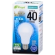 LED電球 40形相当 E26 昼光色 広配光 密閉器具対応 [品番]06-3365