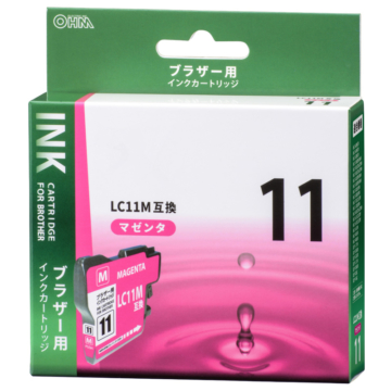 ブラザー互換 LC11M 染料マゼンタ [品番]01-4170
