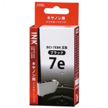 キヤノン BCI-7EBK互換 染料ブラック [品番]01-4195