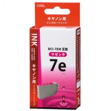 キヤノン互換 BCI-7EM 染料マゼンタ [品番]01-4197