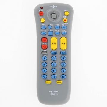 地上デジタル放送対応 TV/VTR/DVD汎用リモコン ORC-05DG [品番]07-0178