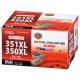 キヤノン互換 BCI-351XL+350XL/6MP 顔料ブラック+染料5色 [品番]01-4165
