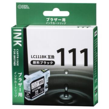 ブラザー互換 LC111BK 顔料ブラック [品番]01-4182