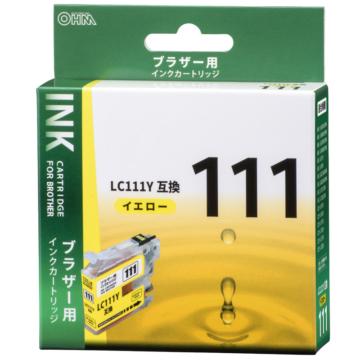 ブラザー互換 LC111Y 染料イエロー [品番]01-4185