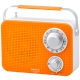 "AudioComm AM/FM <span class=""search-everything-highlight-color"" style=""background-color:orange"">キッチンシャワーラジオ</span> オレンジ [品番]07-8611"