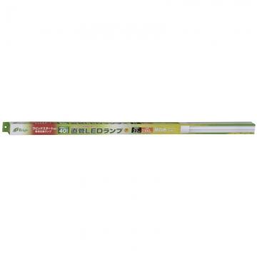 ラピッドスタート形器具専用 直管LEDランプ 40形相当 22W 昼白色 [品番]06-2983