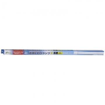直管LEDランプ ラピッドスタート形器具専用 40形相当 G13 昼光色 [品番]06-2984