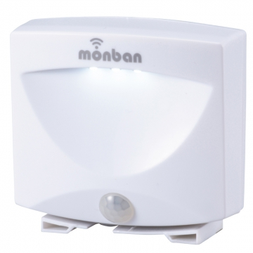 LEDセンサーフットライト monban 乾電池式 [品番]07-8209