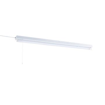 L形ピン直管LEDランプ付照明器具 40W形/昼白色/電気工事不要 [品番]07-8493