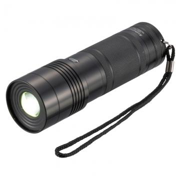 防水 LEDズームライト 300ルーメン [品番]07-8652
