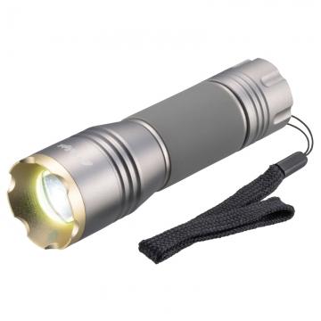 耐水・耐衝撃 LEDズームライト 220ルーメン [品番]07-9934