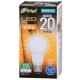LED電球 20W形相当 E26 電球色 全方向 密閉器具対応 [品番]06-3368