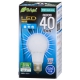 LED電球 40形相当 E26 昼光色 全方向 密閉器具対応 [品番]06-3371