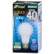 LED電球 40W相当 E26 昼光色 全方向 密閉器具対応 [品番]06-3371