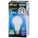 LED電球 60W相当 E26 昼光色 全方向 密閉器具対応 [品番]06-3373