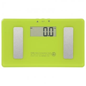 小型 体重体組成計 グリーン [品番]08-0097