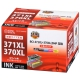 キヤノン互換 BCI-371XL+370XL/5MP 顔料ブラック+染料4色 [品番]01-4236