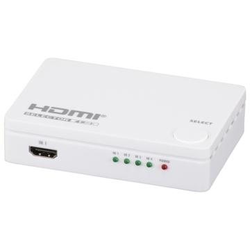 HDMIセレクター 4ポート 白 [品番]05-0578