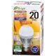 LED電球 一般電球形 20形相当 E26 電球色 センサー [品番]06-3115