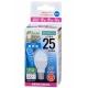 LED電球 ミニクリプトン形 25形相当 E17 昼光色 広配光 [品番]06-3351