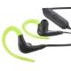 AudioComm ワイヤレスイヤホン Bluetoothステレオヘッドホン グリーン [品番]03-0372