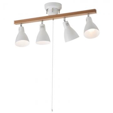 4灯シーリングライト ホワイト 電球別売 [品番]06-1488
