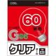 白熱ボール電球 60W E26 G95 クリア [品番]06-0547