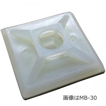 ロックタイベース MB-40 クリア 50個入 [品番]00-9604