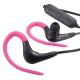 AudioComm ワイヤレスイヤホン Bluetoothステレオヘッドホン ピンク [品番]03-0371