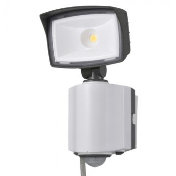 LEDセンサーライト 多機能型 1灯 コンセント式 [品番]07-6385