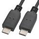 USB Type-C/Type-C 接続ケーブル 1m [品番]01-3707
