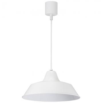 LEDペンダントライト 60W用 ホワイト 電球別売 [品番]06-1493