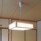 LED和風ペンダントライト 調光6畳用 昼光色 [品番]06-0660