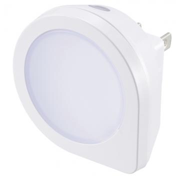 LEDナイトライト 明暗センサー付 電球色 [品番]07-8835